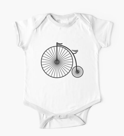 High Wheeler / Penny Farthing Tee One Piece - Short Sleeve