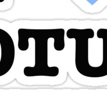 I <3 Jotunheim Sticker