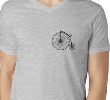 High Wheeler / Penny Farthing Tee (Small logo) Mens V-Neck T-Shirt