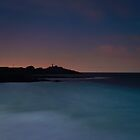 Headland sunset silhouette by fotosic