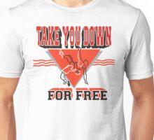 Funny Wrestler Unisex T-Shirt