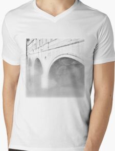 Bath Fog Mens V-Neck T-Shirt