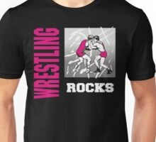 Wrestling Rocks Unisex T-Shirt