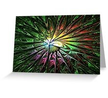 Painters' Galaxy Greeting Card
