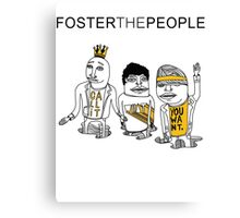 Foster The King Canvas Print