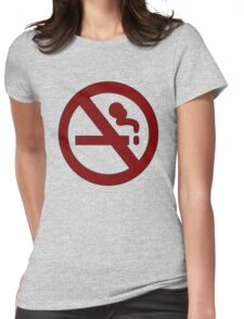 Marceline: No Smoking Shirt Womens Fitted T-Shirt