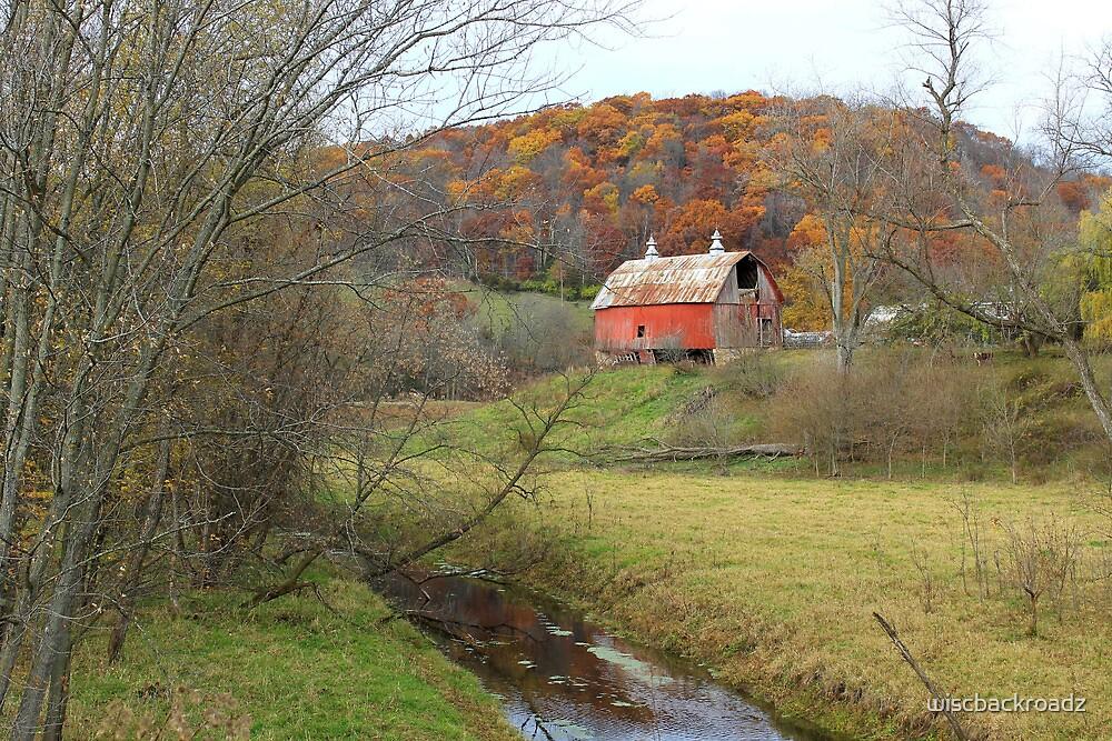 Autumn at Stoney Creek Farm by wiscbackroadz