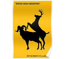 Broke Buck Mounting Poster