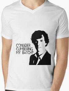 Consider cumbering my batch?  Mens V-Neck T-Shirt