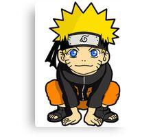 Naruto Chibi Canvas Print