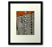 17/10 Beads and Bodhidharma Framed Print