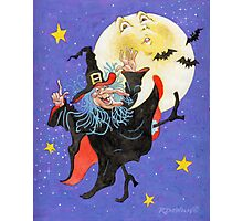 Mad Millie Moon Dance Photographic Print