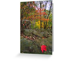 Twilight in October Greeting Card