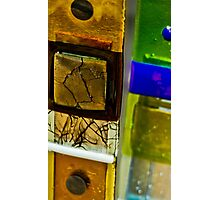 Glass Squares Photographic Print
