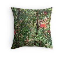 Australian Flowers Throw Pillow