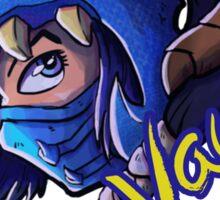 Dragonslayer Vayne League of Legends Sticker