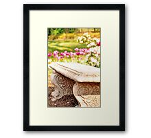 Sit with Me? Framed Print