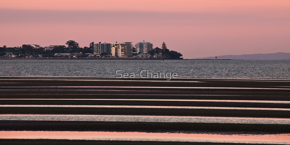 Stripes at Sunset by Sea-Change