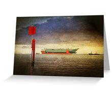 Colossus Voyage Greeting Card