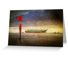 Colossus Voyage Greeting Card