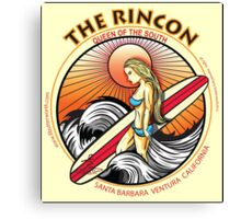THE RINCON, QUEEN  OF THE COAST Canvas Print