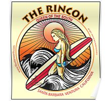 THE RINCON, QUEEN  OF THE COAST Poster