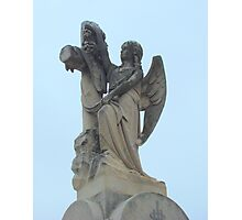 Angel headstone Photographic Print