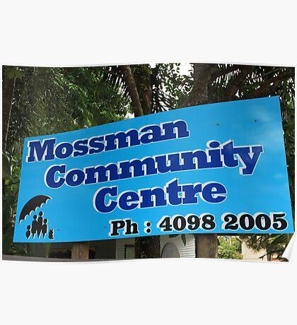 MCC - Mossman Community Centre Poster