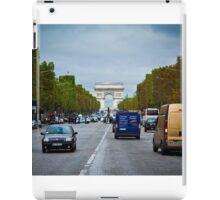 Traffic in Paris, France iPad Case/Skin