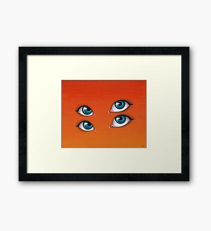 Citrus Sun Framed Print
