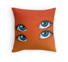 Citrus Sun Throw Pillow