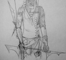 Compute (Body Armor)- Sketch by Aubrey Dunn