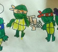 TEENAGE MUTANT TURTLES by Urbas