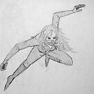 The Crosshair- Sketch II by Aubrey Dunn