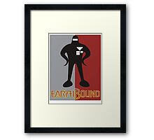 Earthbound Starman obey Framed Print