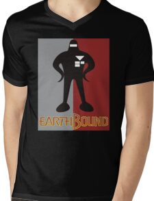 Earthbound Starman obey Mens V-Neck T-Shirt