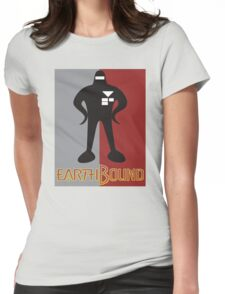 Earthbound Starman obey Womens Fitted T-Shirt