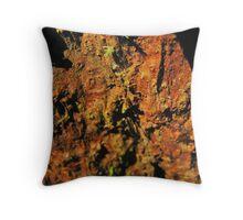 Rainforest Textures Throw Pillow