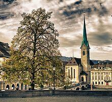 Zurich Old Town by SharonYanai