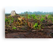 Is Bio Fuels a green option?  Canvas Print