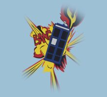 Explosion of the TARDIS Kids Clothes