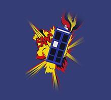 Explosion of the TARDIS Unisex T-Shirt