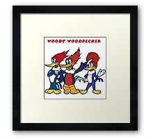 woody woodpecker Framed Print