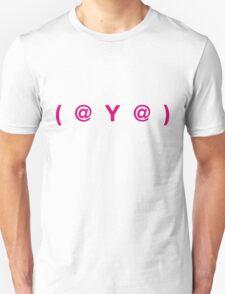 (  @  Y  @  ) : Ladies Unisex T-Shirt