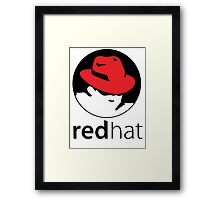 The Red Hat OS Framed Print