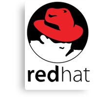 The Red Hat OS Canvas Print