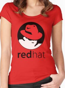 The Red Hat OS Women's Fitted Scoop T-Shirt