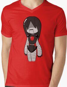 Hey Look a Robot Mens V-Neck T-Shirt