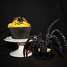 Halloween Cupcake ( Cherry and Almond ) by AnnDixon