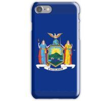 New York State Flag USA Bedspread T-Shirt Sticker Clothes iPhone Case/Skin